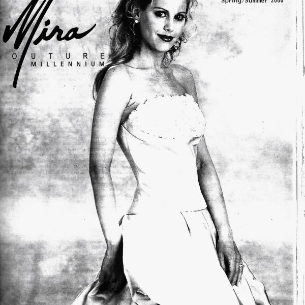 Mira Couture Millenium Ad in Bridal Magazine