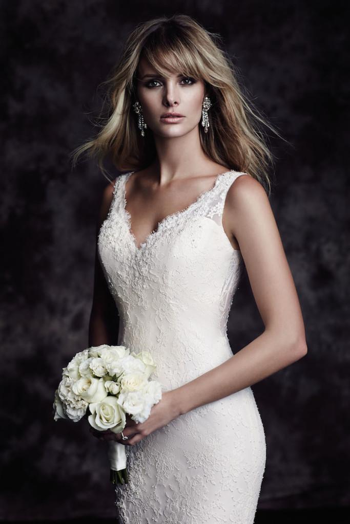 4601 Paloma Blanca Wedding Bridal Gown Chicago Detail