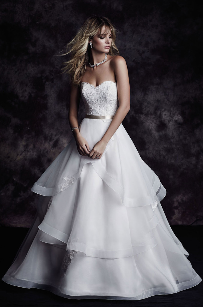 Handmade Wedding Dresses Chicago : Paloma blanca wedding bridal gown chicago g