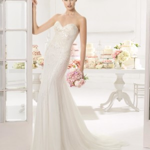 Ainoa Aire Barcelona Wedding Bridal Gown Chicago