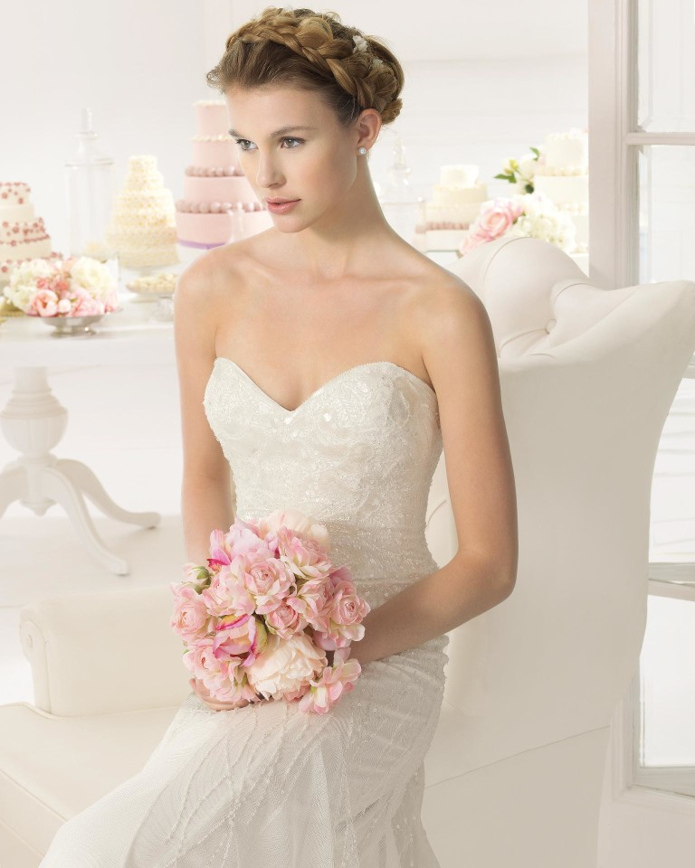 Ainoa Aire Barcelona Wedding Bridal Gown Chicago Detail
