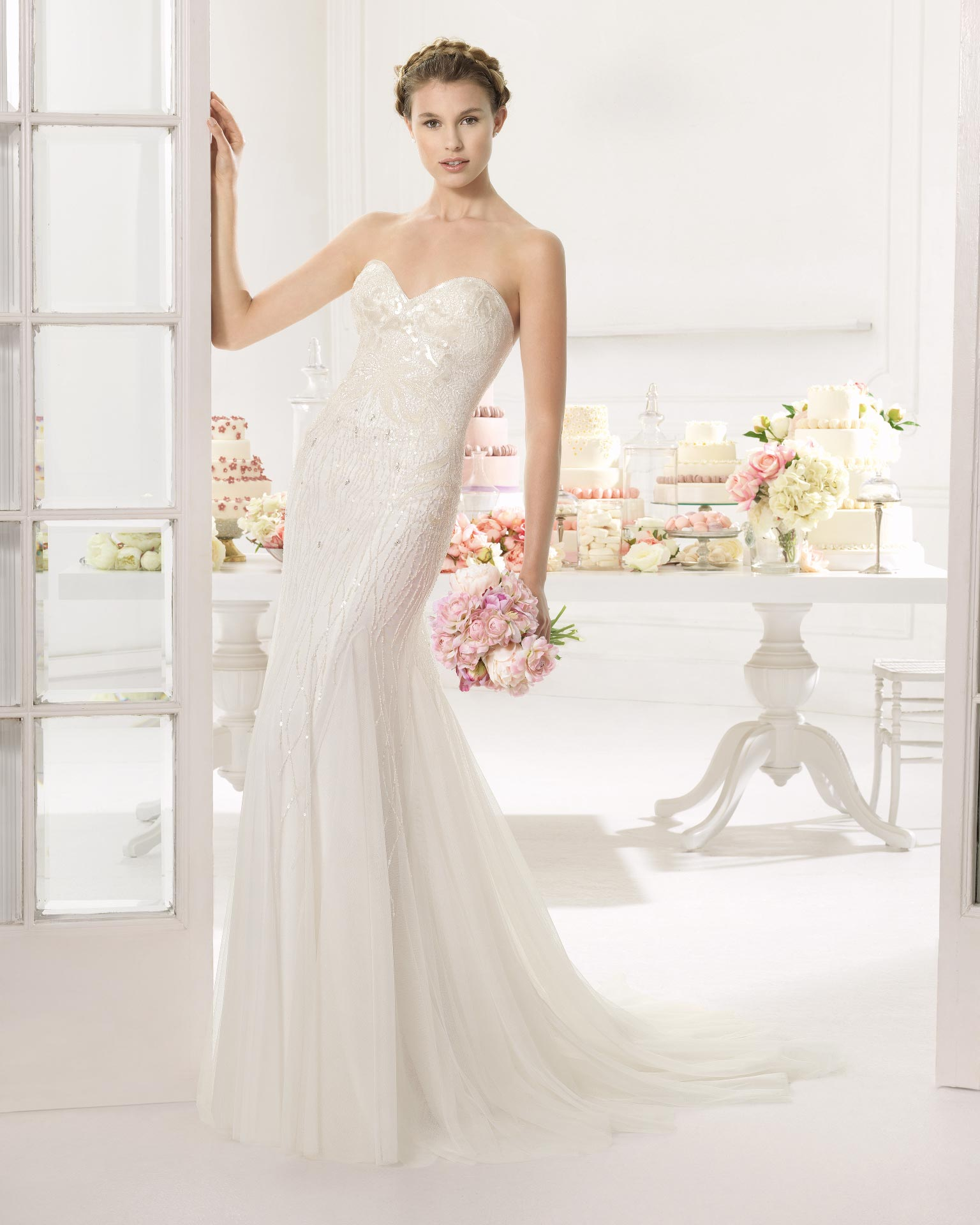 Wedding Gowns Chicago: Ainoa By Aire Barcelona