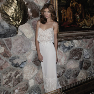 Aline Flora Wedding Bridal Gown Chicago