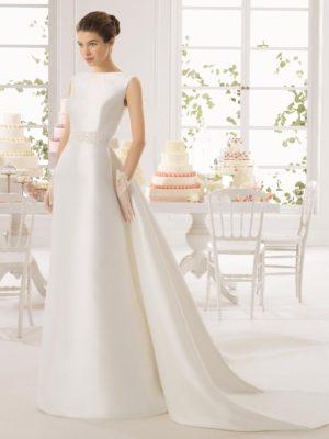 Ariel Aire Barcelona Wedding Bridal Gown Chicago
