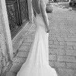 Bella Flora Wedding Bridal Gown Chicago Back
