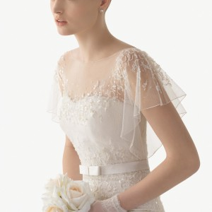 Idoia Rosa Clara Soft Wedding Bridal Gown Chicago Detail