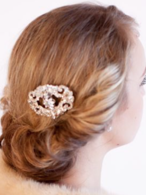 Justine M Couture Isabella Haircomb Accessories Chicago