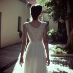 Madeline Flora Wedding Bridal Gown Chicago Back