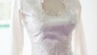 Mira Couture Julie Mersine Custom Vintage Wedding Gown