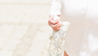 Mira Couture Julie Mersine Custom Vintage Wedding Gown Back