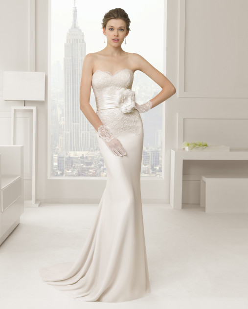 Sabia Rosa Clara Wedding Bridal Gown Chicago