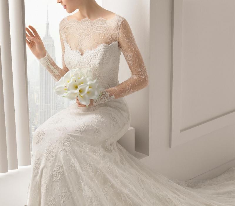 Rosa Clara,Simple Dress For Wedding Sponsor