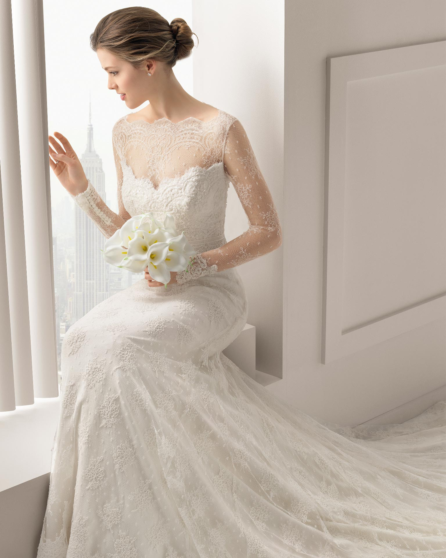 Santafe Rosa Clara Wedding Bridal Gown Chicago Detail