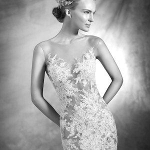 Verda Atelier Pronovias Wedding Gown Chicago