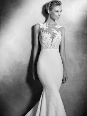 Vicenta Atelier Pronovias Wedding Gown Chicago Detail