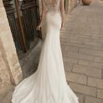 Vik Flora Wedding Bridal Gown Chicago Back