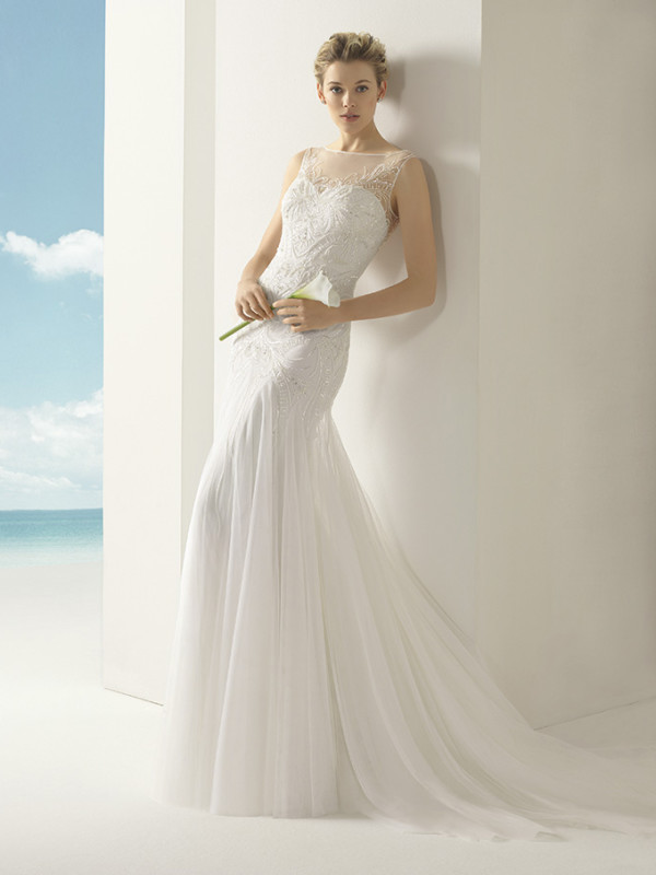 Handmade Wedding Dresses Chicago : Volga rosa clara soft wedding bridal gown chicago