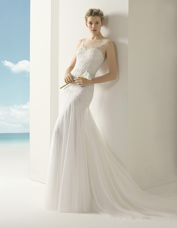 5696468ed71 Volga Rosa Clara Soft Wedding Bridal Gown Chicago ...