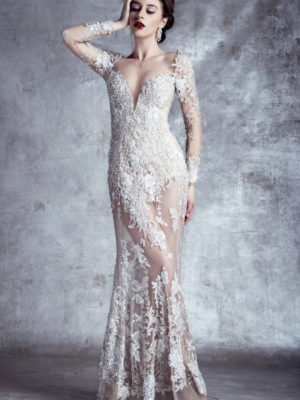 14128 Stephen Yearick Wedding Bridal Gown Chicago