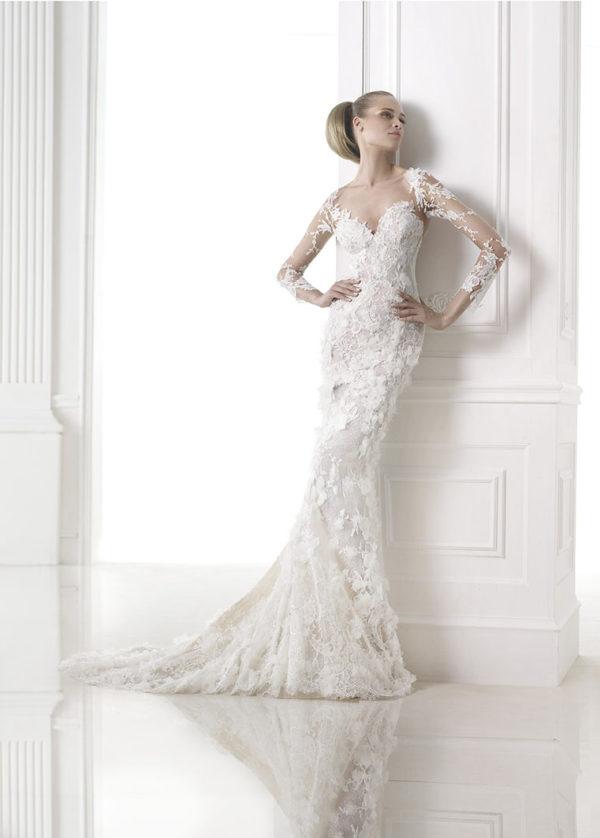 Capricornio Atelier Pronovias Wedding Bridal Gown Chicago