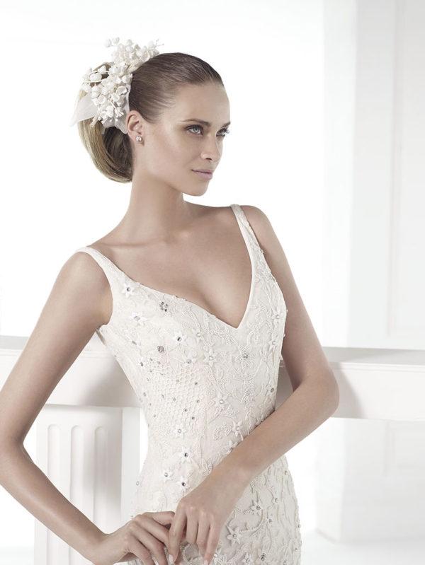 Claudiane Atelier Pronovias Wedding Bridal Gown Chicago Detail