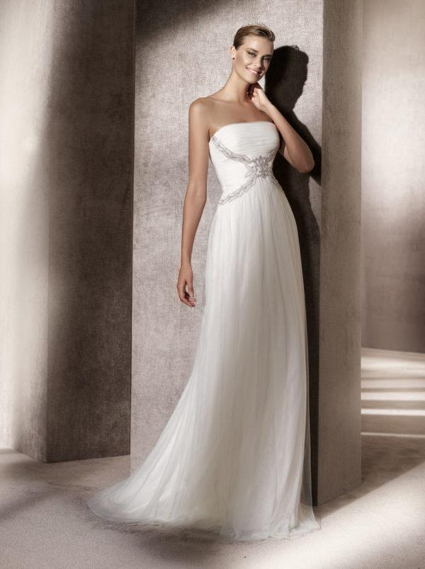 Ebano Atelier Pronovias Wedding BridalGown Chicago