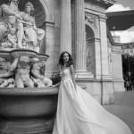 Ester Mira Couture Wedding Bridal Gown Chicago E1602 Organza Ballgown