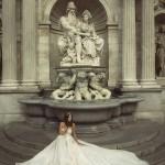 Ester Mira Couture Wedding Bridal Gown Chicago E1602 Organza Ballgown 2016