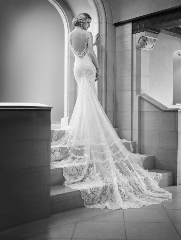Martina Liana 675 Mira Couture Wedding Bridal Gown Chicago