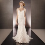 Martina Liana 675 Mira Couture Wedding Bridal Gown Chicago Runway