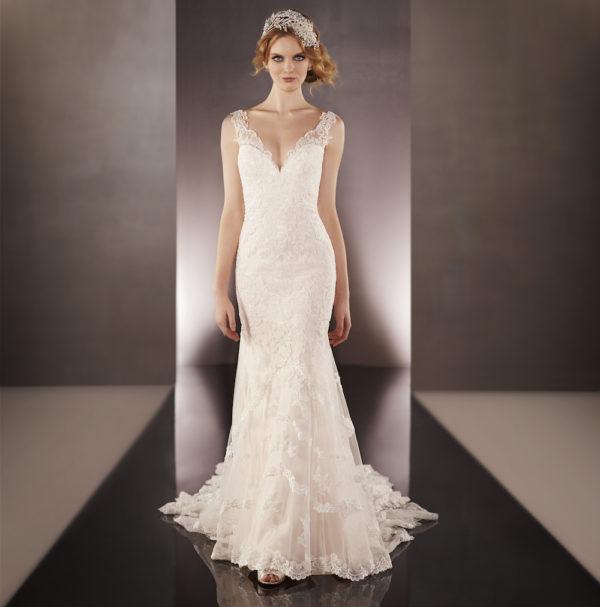 Martina Liana 675 Mira Couture Wedding Bridal Gown Chicago Runway