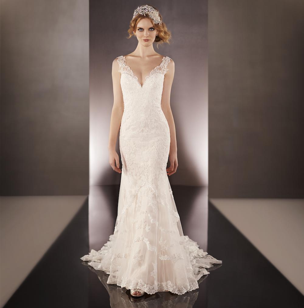 675 by martina liana for Sample wedding dresses chicago