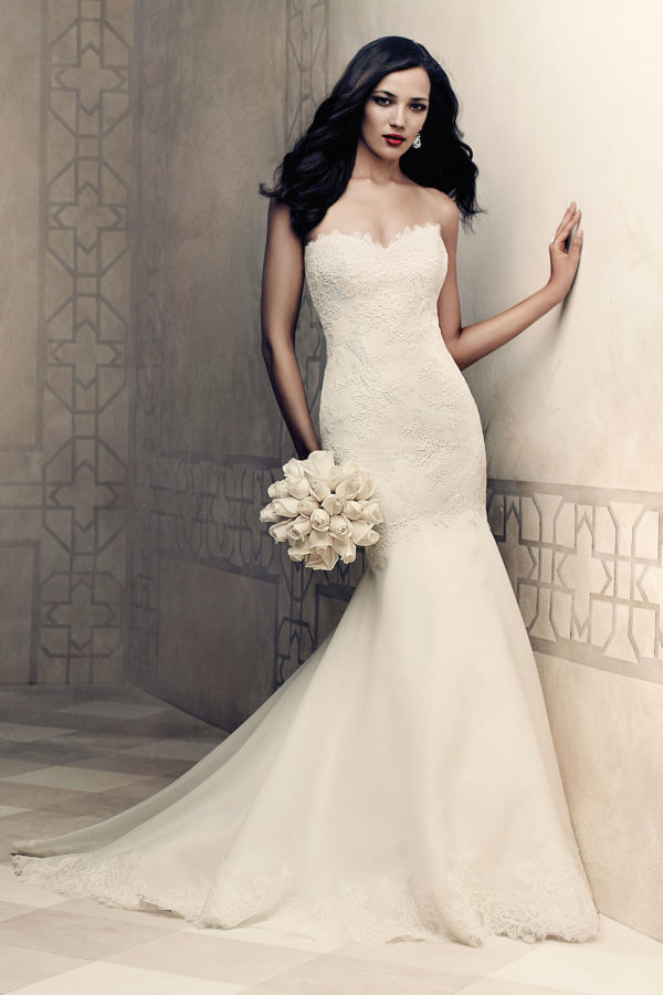 Paloma Blanca 4358 Mira Couture Wedding Bridal Gown Chicago