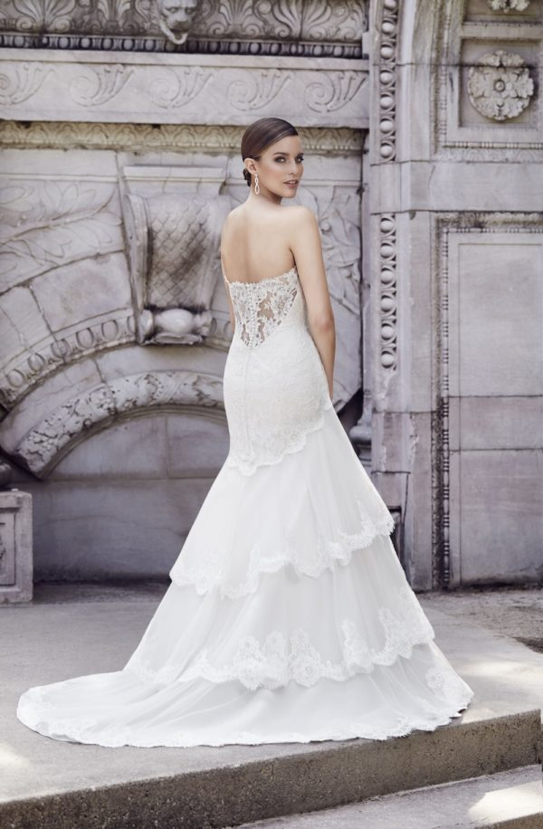 Paloma Blanca 4550 Mira Couture Wedding Gown Chicago