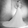 Vera Atelier Pronovias Mira Couture Wedding Bridal Gown Chicago Back