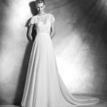 Vera Atelier Pronovias Mira Couture Wedding Bridal Gown Chicago Front