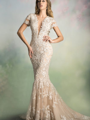 Ysa Makino Mira Couture Gown Chicago 68826X
