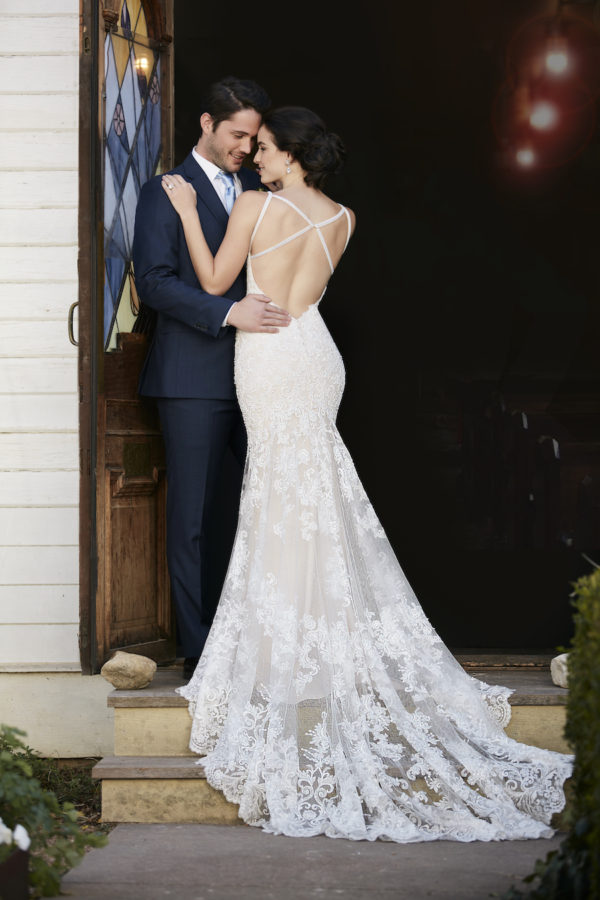 Mira Couture Martina Liana Wedding Bridal Chicago 819 Back