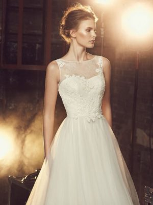Mira Couture Mikaella Wedding Bridal Chicago 2085