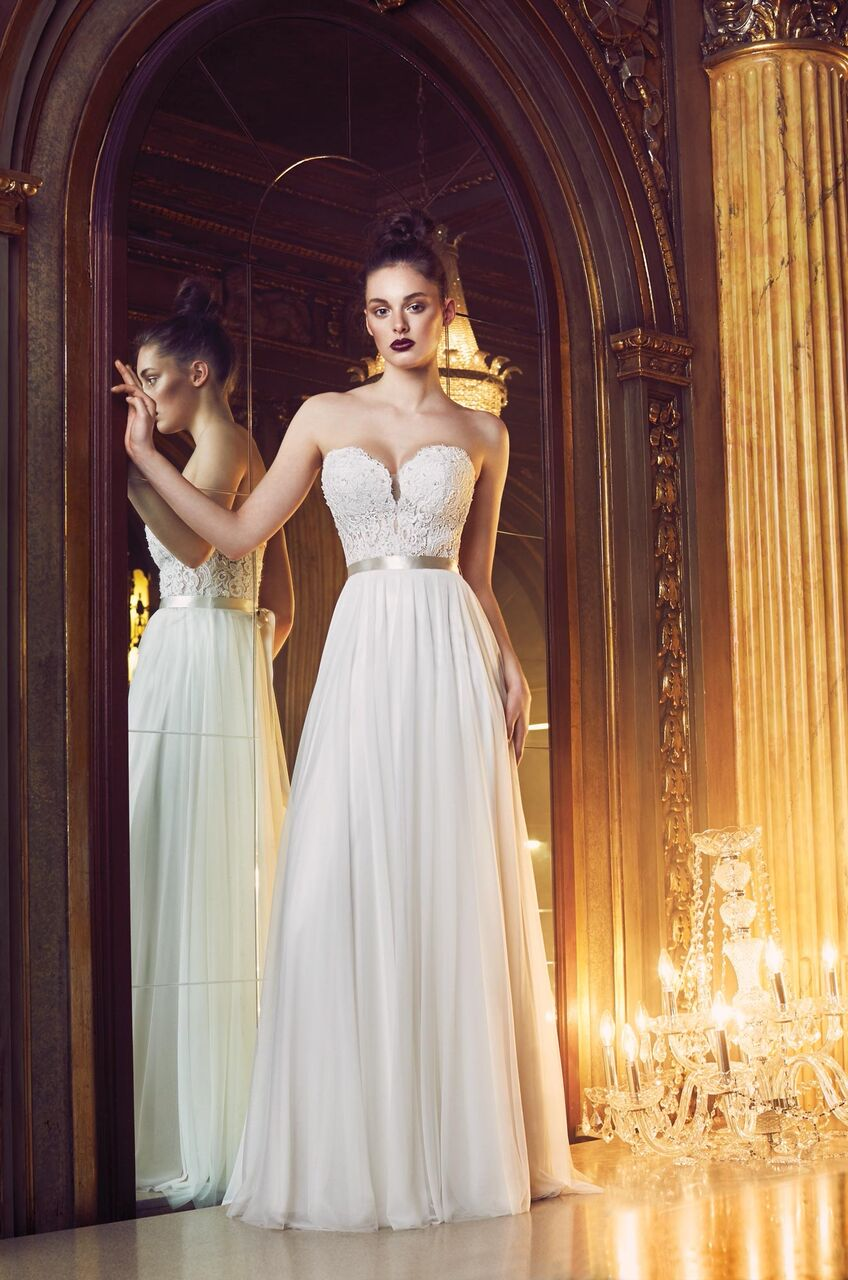 Mira Couture Paloma Blanca Wedding Bridal Gown Chicago 4707