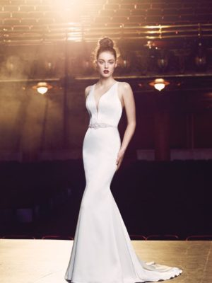 Mira Couture Paloma Blanca Wedding Gown Bridal Chicago 4714