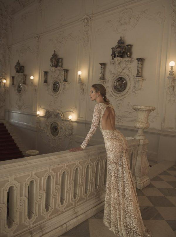 Mira Couture Netta Benshabu Bridal Gown Chicago 1502 Back