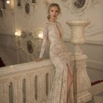 Mira Couture Netta Benshabu Bridal Gown Chicago 1502 Side