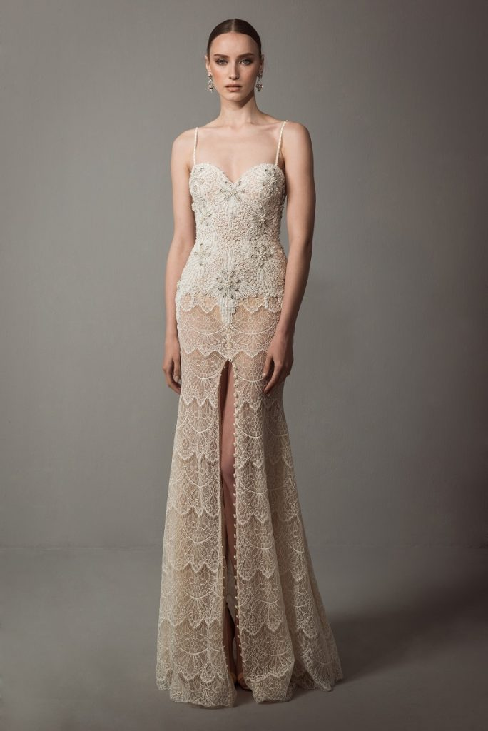 Handmade Wedding Dresses Chicago : Elian by netta benshabu