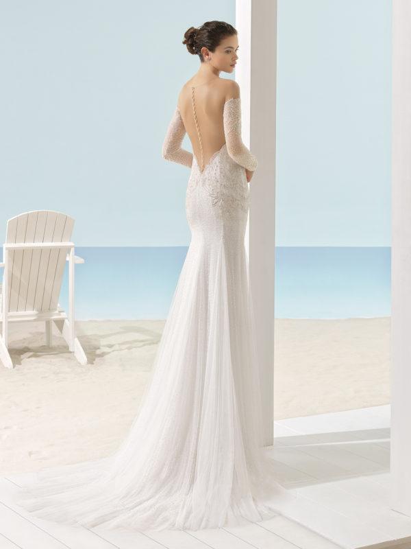 Beach Wedding Dresses Chicago : Xail beach bridal wedding dress gown chicago g