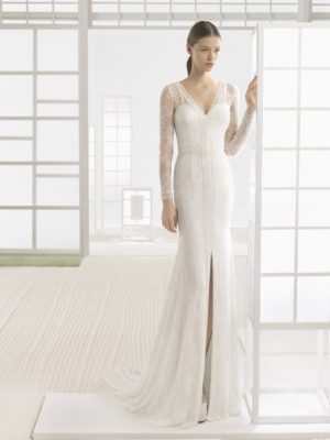 mira couture rosa clara soft chicago wedding bridal gown front