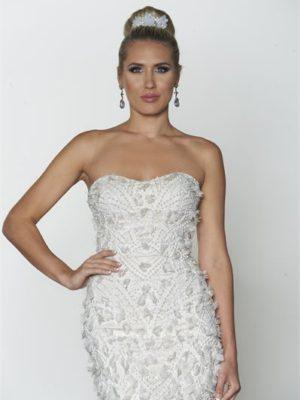 mira couture yumi katsura daveen bridal wedding gown detail chicago