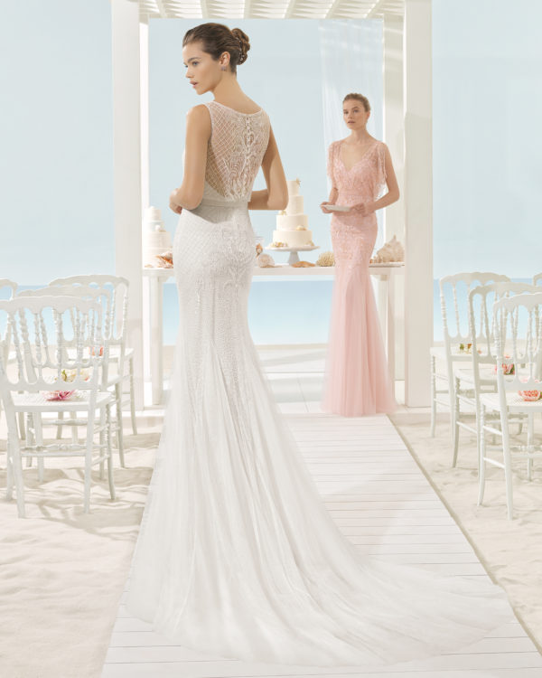mira couture aire barcelona xana beach bridal wedding dress gown chicago