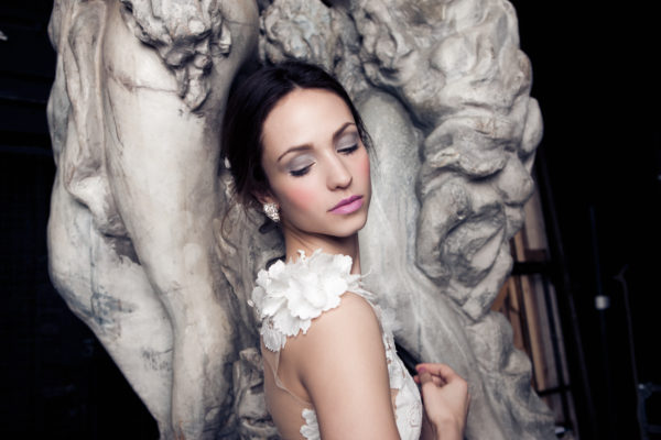Mira Couture Daalarna Ballet 141 Bridal Wedding Gown Dress Chicago Detail