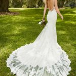 mira couture martina liana 744 wedding bridal gown dress back train